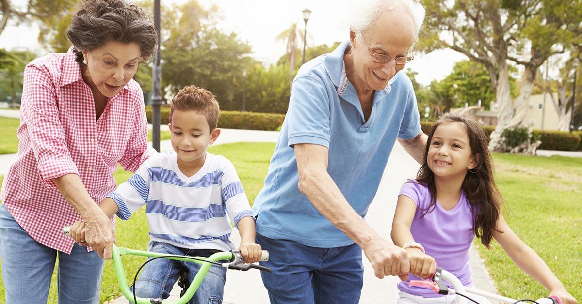 Egészséges nagyszülőkkel a harmonikus családért